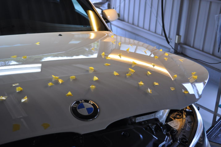 BMW ひょう害修理