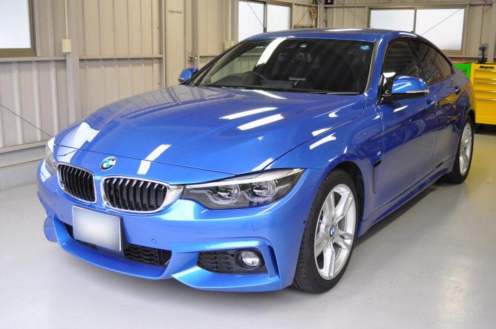 BMW 420I グランクーペ デントリペア