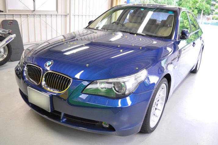 BMW 525I ひょう害修理