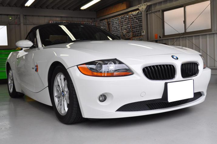 BMW Z4 デントリペア