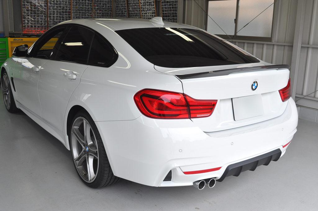 BMW グランクーペ デントリペア